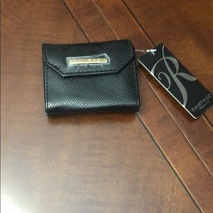 Black mini wallet/card holder BRAND NEW!